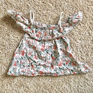 Old Navy toddler girl floral top size 3T